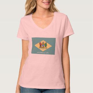 Delaware State Flag Design T-Shirt