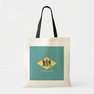 Delaware State Flag Design Tote Bag