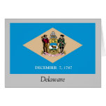 Delaware State Flag Greeting Cards