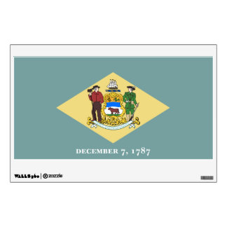 Delaware State Flag Wall Decal