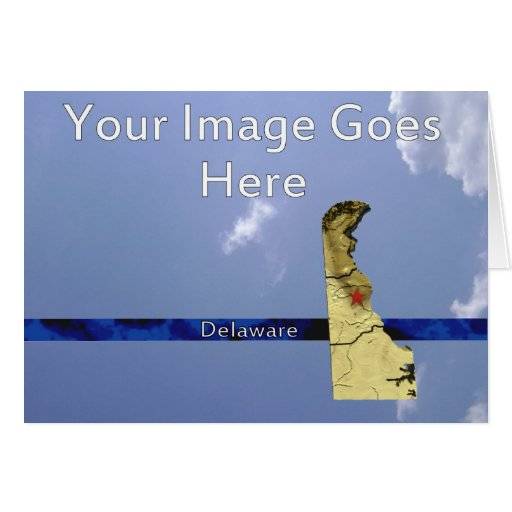 Delaware State Greeting Greeting Card