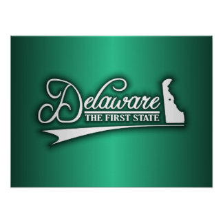 Delaware State of Mine Poster