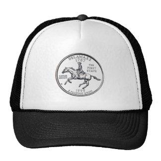 Delaware State Quarter Hats