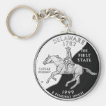 Delaware State Quarter Keychains