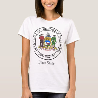 Delaware State Seal and Motto T-Shirt