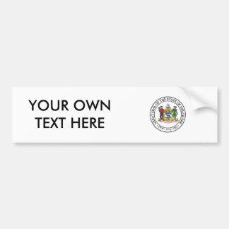 Delaware State Seal Bumper Stickers