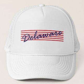Delaware state trucker hat