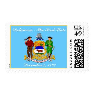 Delaware Statehood Postage