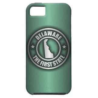 """""""Delaware Steel"""" iPhone 5 Cases (Green)"""
