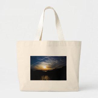 Delaware Sunset Large Tote Bag