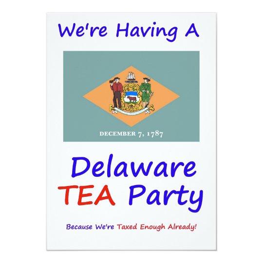 DELAWARE T.E.A. PARTY INVITATIONS