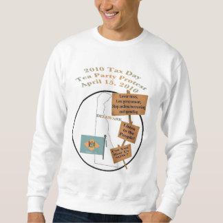 Delaware Tax Day Tea Party Protest Sweatshirt