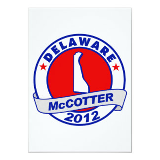 Delaware Thad McCotter Card