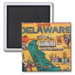 Delaware the Diamond State Refrigerator Magnet