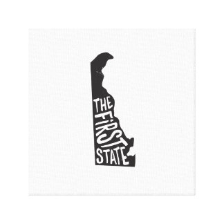 Delaware: The First State Canvas Print