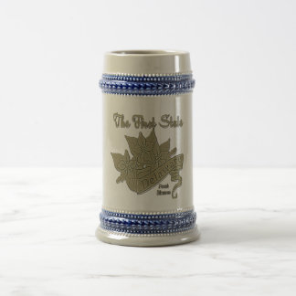 Delaware The First State Peach Blossom Beer Stein