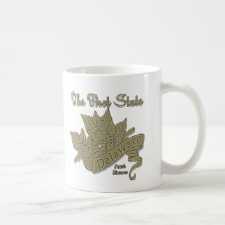 Delaware The First State Peach Blossom Coffee Mug