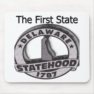 Delaware The First State Statehood Mouse Pad
