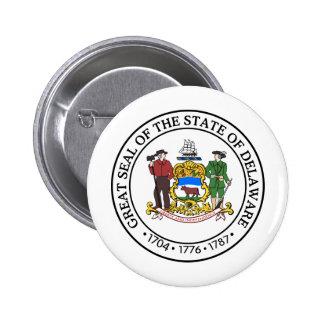 Delaware, USA 2 Inch Round Button