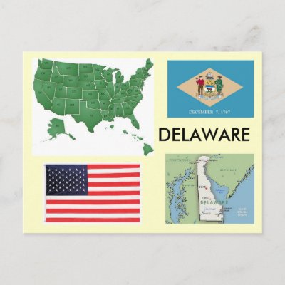 Us Map Delaware