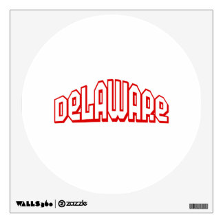Delaware Wall Decal