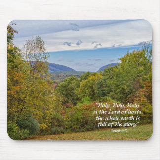 Delaware Water Gap Mountains Christian Mouse Pad