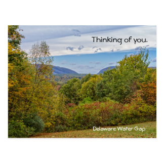 Delaware Water Gap Mountains Postcard