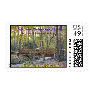 Delaware Water Gap NRA Stamps