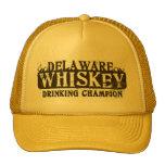 Delaware Whiskey Drinking Champion Trucker Hat