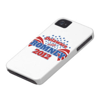 Delaware with Romney 2012 Case-Mate iPhone 4 Case