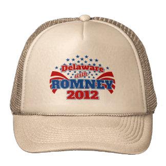 Delaware with Romney 2012 Trucker Hats