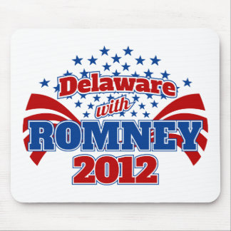 Delaware with Romney 2012 Mouse Pad