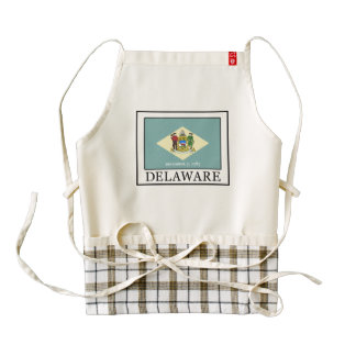 Delaware Zazzle HEART Apron