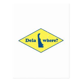 ¿Delawhere? Vintage Delaware Postal