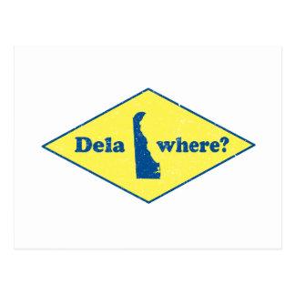 ¿Delawhere? Vintage Delaware Tarjetas Postales