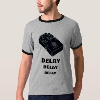Delay Guitar Pedal Black 2 T-Shirt