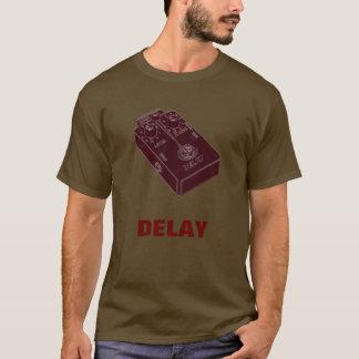 Delay Guitar Pedal Brick Red T-Shirt