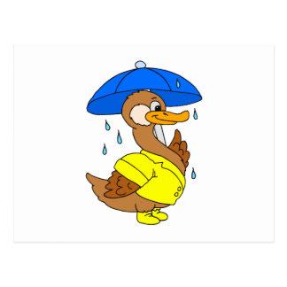 Delbern Duck Postcard
