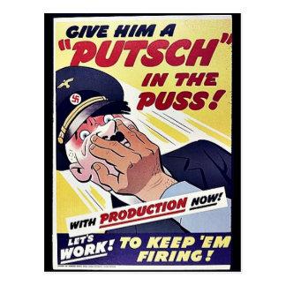 Déle un Putsch en el Puss Postales
