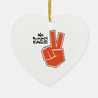 Déle una oportunidad adorno de cerámica en forma de corazón
