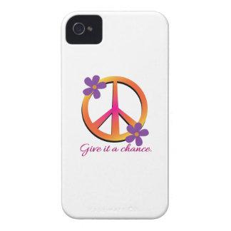 Déle una oportunidad iPhone 4 Case-Mate protector