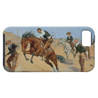 Déle vuelta flojo, Bill, c.1893 (el aceite en iPhone 5 Fundas