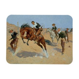 Déle vuelta flojo, Bill, c.1893 (el aceite en lona Iman Flexible