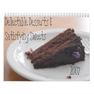 Delectable Desserts Calendar