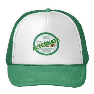 DELEGADO ALTERNO del gorra de DNC