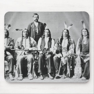 Delegation of Sioux chiefs, led by Red Cloud (1822 Mouse Pad