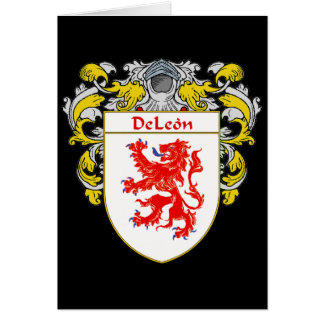 DeLeon Coat of Arms Card