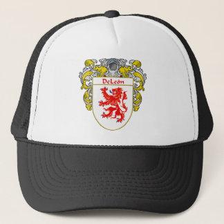 DeLeon Coat of Arms Trucker Hat