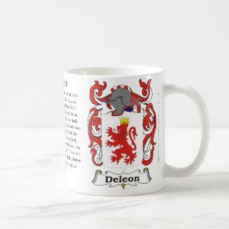 Deleon, el origen y significado en una taza