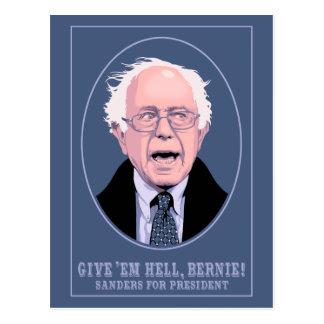 Déles el infierno, Bernie Postales